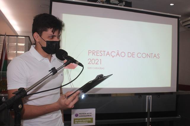 Prefeitura de Caraúbas realiza audiência pública para prestar contas a população