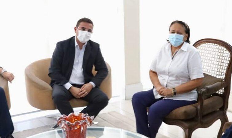 Encontro do prefeito Rivelino e a governadora Fátima Bezerra(Foto ilustração)