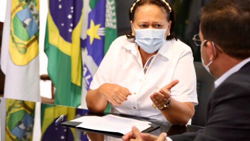 Prefeito de Patu participa de audiência com Governadora Fátima