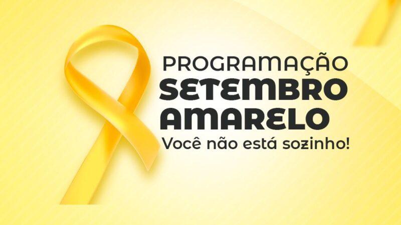 Prefeita Cinthia Sonale determina que secretarias se envolvam no 'Setembro Amarelo'