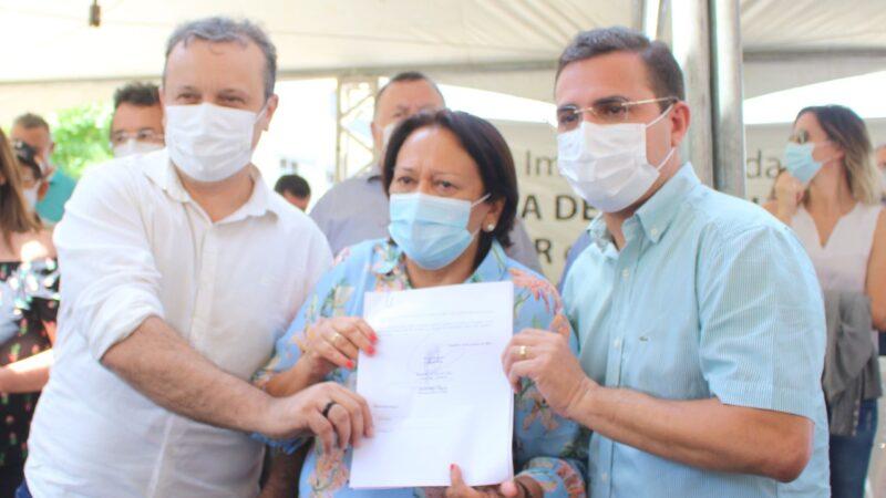 Em Patu governadora Fátima assegura investimento para o Médio Oeste Potiguar