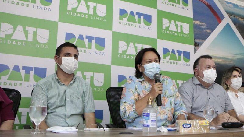 Governo firma parceria para recuperar estrada para o Santuário do Lima e instalar fábricas