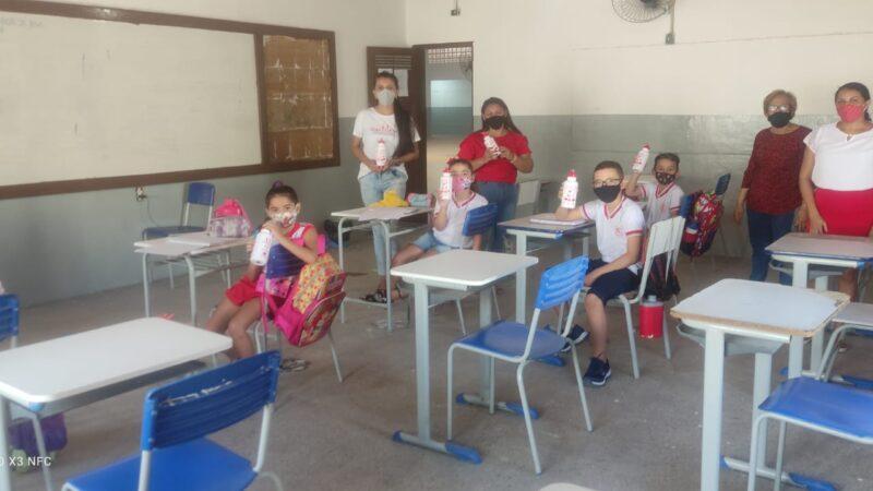 Rede municipal de ensino retoma aulas presenciais em Grossos