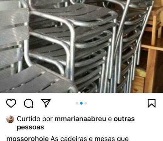 Guarda Municipal localiza cadeiras furtadas da Praça de Convivências