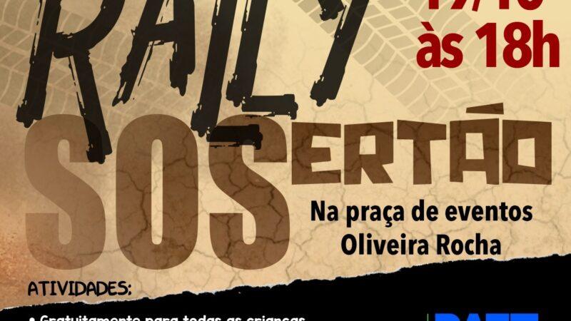 Patu recebe etapa do Rally SOSertão Voo Livre e Solidariedade