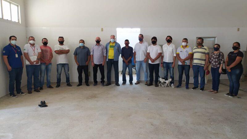 Representantes do MAPA visita Caraúbas para viabilizar funcionamento da central pesqueira