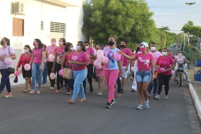 UBS João Marinaldo de Holanda promove Caminhada Rosa para as mulheres caraubenses