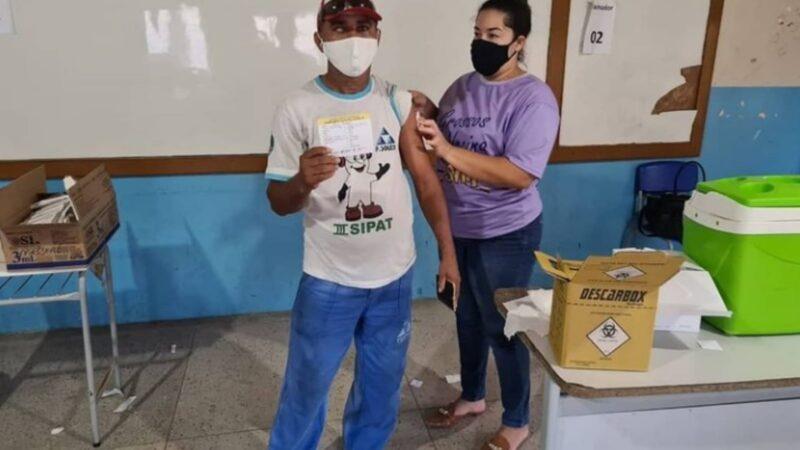 Covid-19: dia D de vacinação para os trabalhadores da indústria será nesta segunda (25)