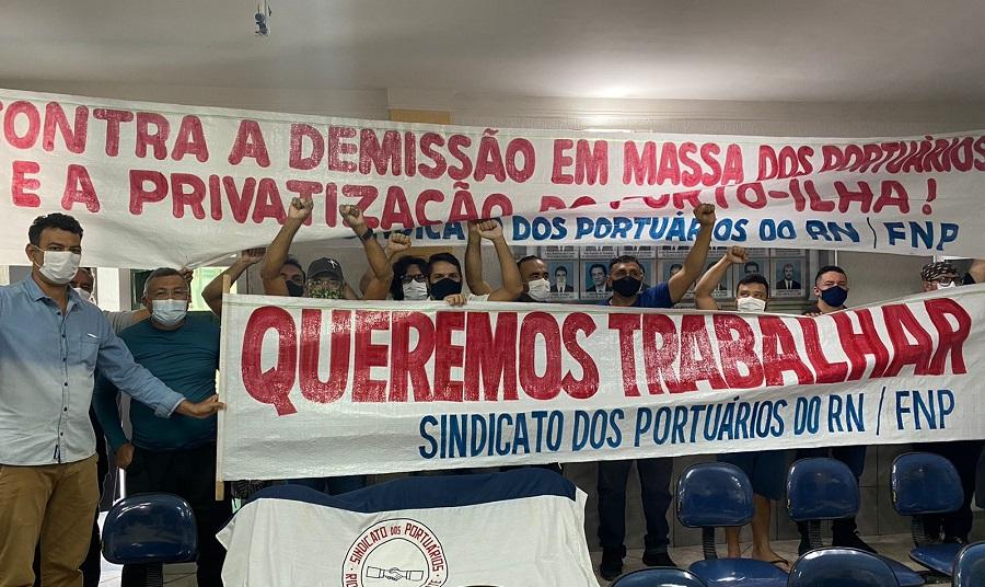SINPORN diz que privatização do Porto-Ilha de Areia Branca vai provocar demissão em massa de portuários